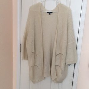 Mossimo white cardigan baggy